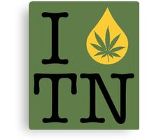 I Dab TN (Tennessee) Canvas Print
