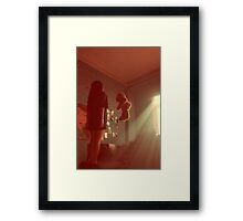 As if you understand.. Framed Print