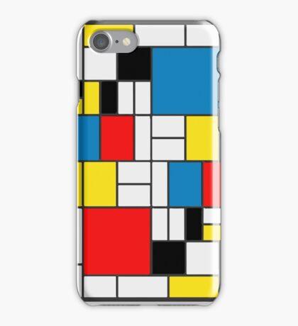 Piet Mondrian Composition iPhone Case/Skin