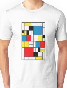 Piet Mondrian Composition Unisex T-Shirt