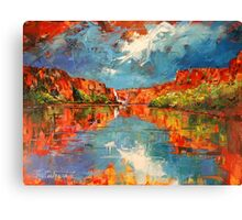 King George Falls Canvas Print