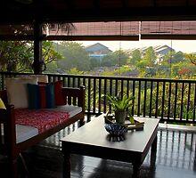 Terrace on the Nature - Kuala Lumpur, Malaysia. by Tiffany Lenoir