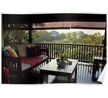 Terrace on the Nature - Kuala Lumpur, Malaysia. Poster