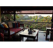Terrace on the Nature - Kuala Lumpur, Malaysia. Photographic Print