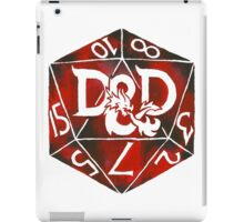 Hand Painted Watercolor DnD D20 iPad Case/Skin