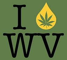 I Dab WV (West Virginia) by LaCaDesigns