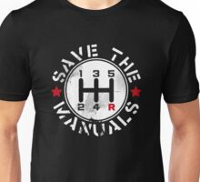 Save The Manual Transmission Unisex T-Shirt
