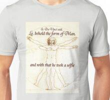 Da Vinci's Selfie Unisex T-Shirt