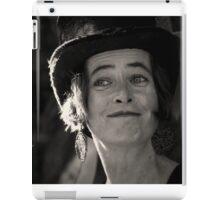 Street Performer, Dublin iPad Case/Skin