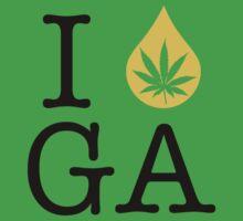 I Dab GA (Georgia) by LaCaDesigns
