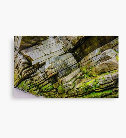 Rocks of Maghera - County Donegal, Ireland #11 Canvas Print
