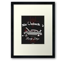 Mr. Unlucky's Framed Print