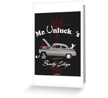 Mr. Unlucky's Greeting Card