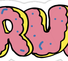BRUH - OF Donut Style - Odd Future Wolf Gang Kill Them All Sticker