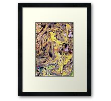 Mysterious Marble Framed Print