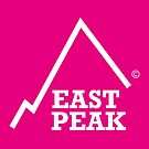 East Peak Apparel - Pink Square Small Logo by springwoodbooks