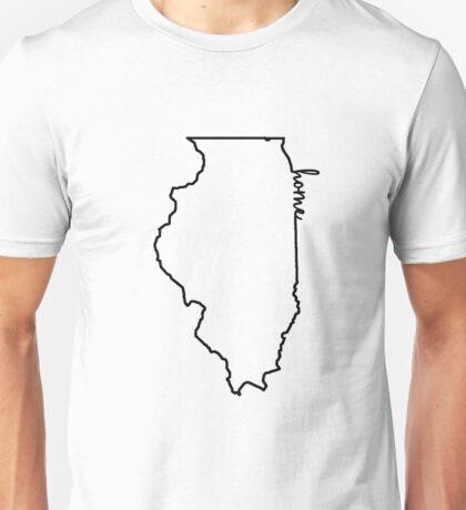 Illinois Home Outline Unisex T-Shirt