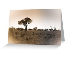 Lonely Landscape Greeting Card