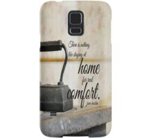 Jane Austen Home Samsung Galaxy Case/Skin