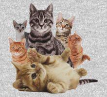 Cat Pile Kids Clothes