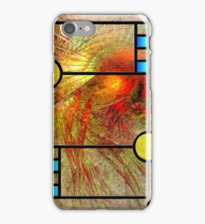 Prairie View (Square Version) - By John Robert Beck iPhone Case/Skin