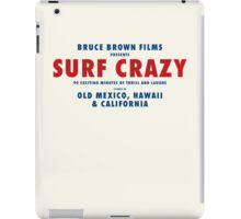 Surf Crazy iPad Case/Skin