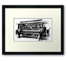 Raleigh Streetcar Framed Print