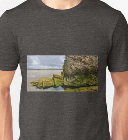 Rocks of Maghera Beach -  Ireland  #13 Unisex T-Shirt