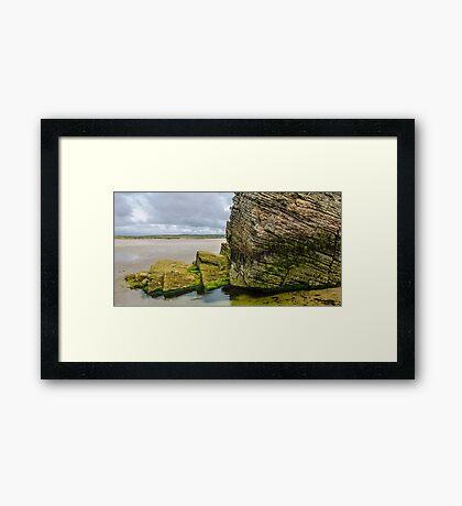 Rocks of Maghera Beach -  Ireland  #13 Framed Print