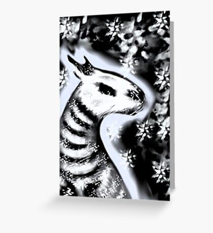 Bones Dragon Greeting Card