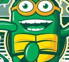 Teenage Minion Ninja Turtles Sticker