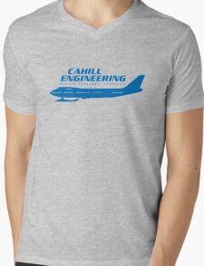 Cahill Engineering Mens V-Neck T-Shirt