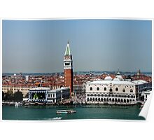 San Marco from above Poster