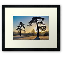 January Sunrise Framed Print
