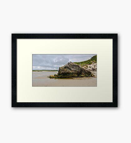 Rocks of Maghera Beach - Ireland #15 Framed Print