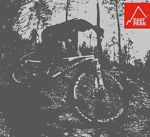 East Peak Apparel - Mountain Bike by springwoodbooks