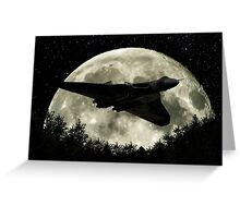 Vulcan Moon Greeting Card