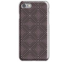 Classic Deep Toned Diamond Pattern iPhone Case/Skin