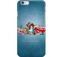 Alice in Wonderland inspired design. iPhone Case/Skin