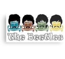 The Beatles/Beetles Metal Print