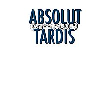 Absolut Whovian Photographic Print