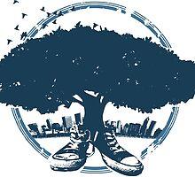 Urban Tree by porchfly