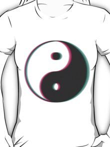 YinYang Transparent Tumblr Style T-Shirt