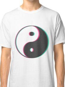 YinYang Transparent Tumblr Style Classic T-Shirt