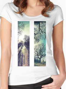 'Discovery' Panorama Set   Women's Fitted Scoop T-Shirt