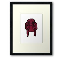 The Crying Minotaur II Framed Print