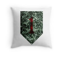 1st Infantry Division - .223 ammo Throw Pillow