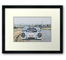 1967 Porsche 911 917K Illustration  Framed Print