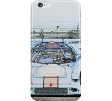 1967 Porsche 911 917K Illustration  iPhone Case/Skin