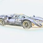 1967 Lola T7 II Illustration 2 by DaveKoontz